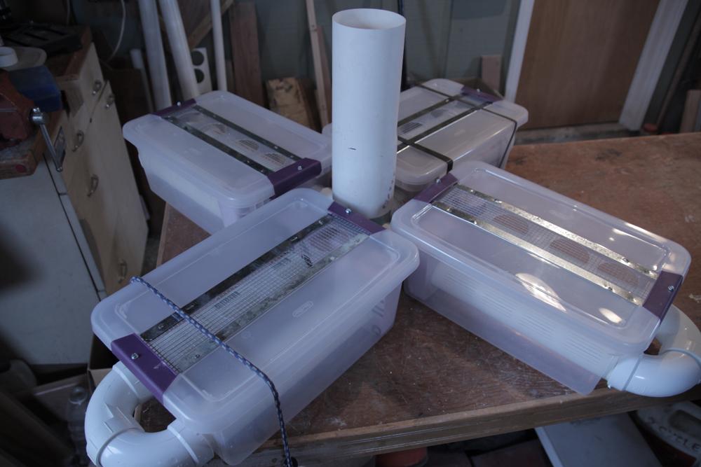 Multiple lake water filters